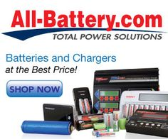 All-Battery.com is the largest web site for rechargeable batteries of all kinds: AA, AAA, C, D, 9V, digital camera, laptop and 2 way radios, battery packs, Li-ion, Li-Polymer, battery chargers, DC/AC inverters and other mobile power accessories. Also: Intra-User Should Review Serving Areas And Any Terms Of Policies @ Any LeapLinks Provided Here.§FTCA See16 CFR§255§311§312.2§312.4 @ https://www.ftc.gov/