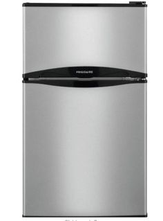 Frigidaire Mini Refrigerator Stainless Steel Look Freezer Ft Cu 3.1, Energy Star…