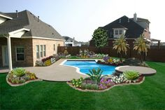 Amazing Backyard Landscapes for Small and Large Yards: Beverly Woodcreek Backyard Landscapes – BS2H