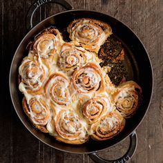 Orange Cinnamon Rolls with Cream Cheese Icing