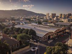 The Crossley & Webb showroom in Gardens Cape Town Cape Town, Showroom, Gardens, Mansions, House Styles, Manor Houses, Outdoor Gardens, Villas, Mansion