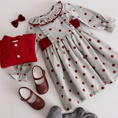 Discover traditional, high-quality clothing from Pepa & Co for girls aged - Our classic looks feature quintessentially British designs; including handsmocked dresses, cosy knitwear and leather Mary-Janes. Baby Girl Frocks, Frocks For Girls, Toddler Girl Outfits, Little Girl Dresses, Kids Outfits, Baby Summer Dresses, Toddler Girls, Baby Girls, Baby Girl Frock Design