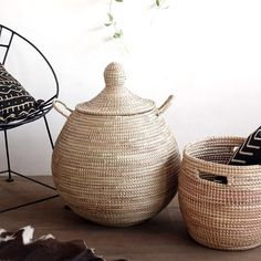 Shop Home Decor Items Online - Affordable African Decorative Items Tree Stem, Home Decor Items Online, Crochet Basket Pattern, Crochet Baskets, Industrial Companies, Laundry Hamper, Recycled Materials, Storage Baskets, Home Decor Accessories