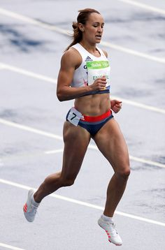 Jessica Ennis-Hill of Great Britain competes in the Women's Heptathlon 100 Meter Hurdles on Day 7 of the Rio 2016 Olympic Games at the Olympic Stadium. Jessica Ennis Hill, Jess Ennis, Heptathlon, Rio Olympics 2016, Summer Olympics, Jennifer Ennis, Female Athletes, Women Athletes, Long Jump