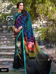 PRODUCT DESCRIPTION     EXCLUSIVE TRADITIONAL WEAR SAREE COLLECTION SAREE : HAND PRINTED GEORGETTE BLOUSE : DESIGNER LENGTH : 6.3 MTR       OTHER DETAILS     OC