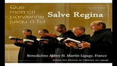 """Salve Regina (Solemn) HD~ Benedictine Monks - Video Dailymotion/From; Liturgie Des Heures [Disc 8]-St. Martin's Abbey, Ligugé/ 1998/ The """"Salve Regina"""", also known as the Hail Holy Queen, is a Marian hymn and one of four Marian antiphons sung at different seasons within the Christian liturgical calendar of the Roman Catholic Church. The Salve Regina is traditionally sung at Compline in the time from the Saturday before Trinity Sunday until the Friday before the first Sunday of A...."""
