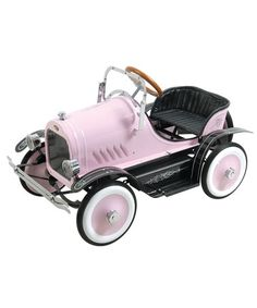 Take a look at this Pink Deluxe Roadster Pedal Ride-On by Dexton on #zulily today!