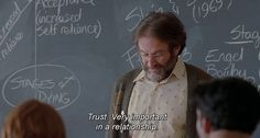 Movie Good Will Hunting 80s Quotes, Best Movie Quotes, Tv Show Quotes, Daily Quotes, Good Will Hunting, Girl Hunting Quotes, Robin Williams Quotes, Movie Dates, About Time Movie