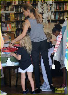 Celeb Diary: Angelina Jolie @ Berkelouw Book Store in Sydney, Australia