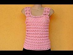 Crochet Dress Full Pattern and Tutorial - Craft & Patterns Crochet Summer Tops, Crochet Crop Top, Crochet Blouse, Crochet For Kids, Crochet Box, Knit Crochet, Crochet Bodycon Dresses, Hairpin Lace, Crochet Patterns For Beginners