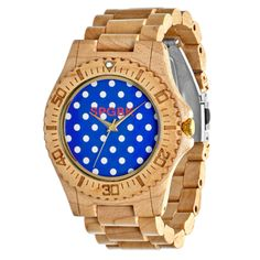 SPGBK Manhattan Wood Watch  Springbreakwatches.com