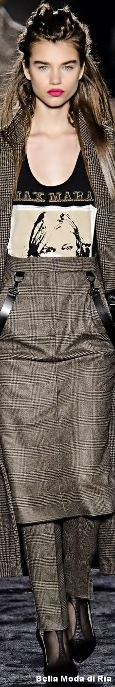 Max Mara Fall Winter 2018-19 Ready To Wear