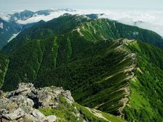 Mount Tsubakuro (燕岳 Tsubakuro-dake?) is a 2,763 metres (9,065 ft) high mountain in Azumino, Nagano Prefecture, Japan. It is situated in Japan's Hida Mountains in Nagano Prefecture. It was specified for Chūbu-Sangaku National Park on December 4, 1934File:Tsubakurodake from Otenshodake 2002-8-22.jpg