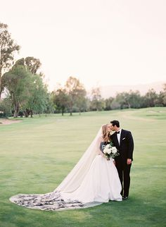 Romantic Black and White Ojai Wedding - Inspired By This