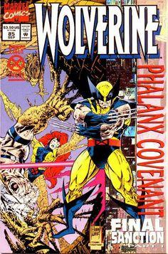 Wolverine Vol. 2 # 85 by Adam Kubert & Mark Farmer