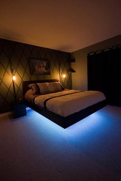 """Just another """"floating"""" bedframe build. Check out the full project http://ift.tt/2fSb2rm Don't Forget to Like Comment and Share! - http://ift.tt/1HQJd81"""