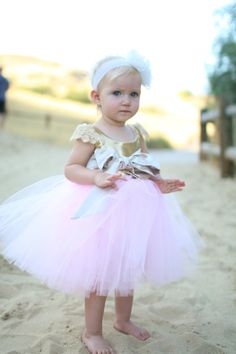 NOVEMBER SPECIAL 10% off Little Royal Beauty ~ First Birthday dress ~ First Birthday outfit girl