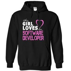 Girl Loves Her SOFTWARE DEVELOPER - #gift ideas #gift for guys. TRY => https://www.sunfrog.com/LifeStyle/Girl-Loves-Her-SOFTWARE-DEVELOPER-6344-Black-13092890-Hoodie.html?68278