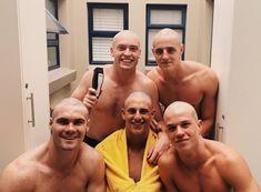 Skinhead Men, Bald Men Style, Low Fade Haircut, Long To Short Hair, Bald Man, Hunks Men, Hate Men, Bald Heads, Raining Men