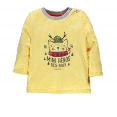 Long sleeve T-shirt - MINI HERO OF THE WOODS | Souris Mini