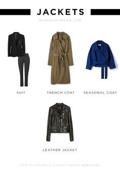 The jackets you need for your French wardrobe
