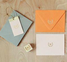 Honey Bee Emblem Stamp | Lush Prints