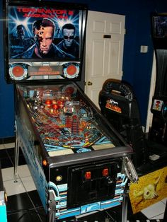Terminator 2 pinball is the bee's knees of pinball, Lady T.