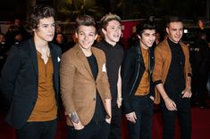 Liam Payne Zayn Malik Photos - (L-R) Harry Styles, Louis Tomlinson, Niall Horan, Zayn Malik and Liam Payne of One Direction attend the NRJ Music Awards 2013 at Palais des Festivals on January 26, 2013 in Cannes, France. - NRJ Music Awards 2013 - Red Carpet Arrivals