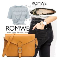 """Romwe contest"" by goldenttt ❤ liked on Polyvore featuring ASOS, T By Alexander Wang and Kate Spade"