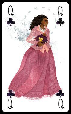 Angelica Schuyler Church as Queen of Clubs // Korina Dabundo
