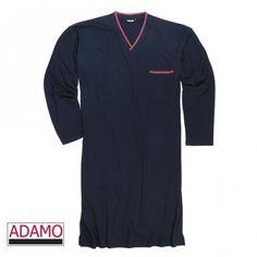 Adamo Nachthemd BILL 119263 in 360 Navy XXL-10XL=56-86/88