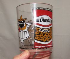 Vintage Cheetos Cheese Snacks Hard Plastic Cup by PuppyLuckArt