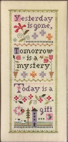 A Little Mystery Sampler by Lizzie Kate, set of 3 charts