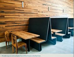 Bar Agricole Reclaimed Wood Table Tops Rustic Restaurant Design Woods Tables