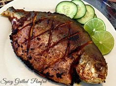 Hot And Yummy Grilled Pomfret Recipe For Fish Lovers Grilled Fish Recipes, Tilapia Recipes, Seafood Recipes, Indian Food Recipes, Pomfret Fish, How To Cook Fish, Home Recipes, Asian, Gourmet