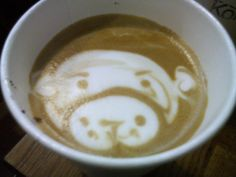 "Pepe likes to get what he calls ""Monkey Coffee"" which is really a latte with a monkey face in the foam"