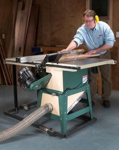 Capture Tablesaw Dust - Woodworking Shop - American Woodworker