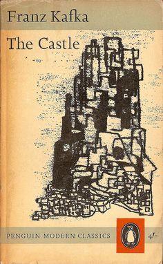 The Castle, Ediciones Penguin Modern Classics Book Cover Art, Book Cover Design, Book Design, Book Art, Vintage Book Covers, Vintage Books, Franz Kafka Books, Penguin Modern Classics, Books To Read