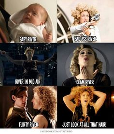 Riversong Doctor Who Space Man, Crossover, Soft Kitty Warm Kitty, Doctor Who Companions, Alex Kingston, 11th Doctor, Hello Sweetie, Torchwood, Matt Smith