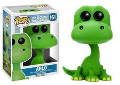 Arlo from Disney's Good Dinosaur has been given the POP treatment! Figure stands 3 3/4 inches tall and comes in a window display box. Check out the other Disney POP figures from Funko! Collect them all!