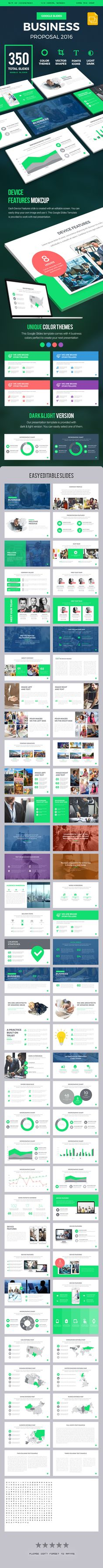 Business Proposal 2016 Google Slides Presentation Template. Download here: http://graphicriver.net/item/business-proposal-2016-google-slides-presentation-template/16328855?ref=ksioks