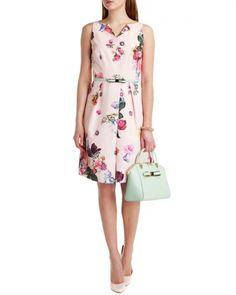 Floral printed dress - DEAVON - Ted Baker