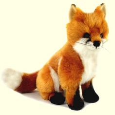 plush fox musical toy | Plush Stuffed Toys & Puppets - Fox, Wolf, and Coyote