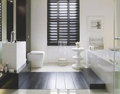 Etonnant Modern. Zen. Glamorous. Tranquil Interior Shutters, Wood Shutters, Black  Shutters,