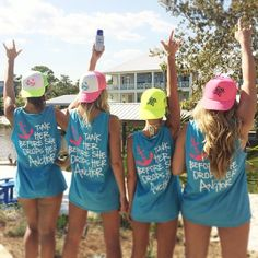 MG partnered with Tailored South for the best bachelorette tee shirts EVER this weekend!!! And our neon trucker hats are a MUST HAVE this summer sitting around the pool or even at the beach!