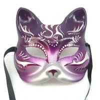 Gatto Cat Mask Venice Masquerade