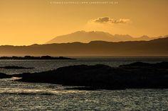 Isle of Skye from Arisaig, Scotland