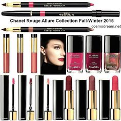 #Repost @cosmodreamblog ・・・ в блоге: Осенне-Зимняя коолекция #Chanel 2015 ❄️❄️ #ChanelFall2015 makeup collection, more info in my blog  #ChanelRougeAllure Collection