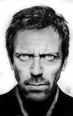 Hugh Laurie by Mizz-Depp