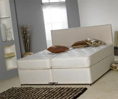 Windsor 6ft Zip and Link Bed with 10in Deep Medium Firm Mattresses